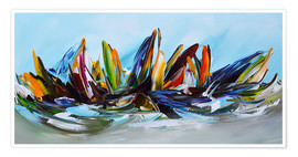 Poster Premium Sailing abstract