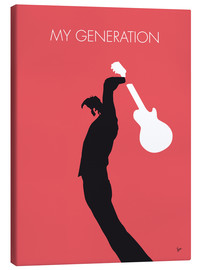 Stampa su tela  No002 MY THE WHO Minimal Music poster - chungkong