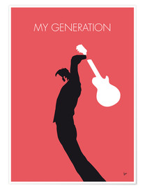 Poster Premium  THE WHO, My Generation - chungkong