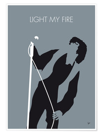 Poster Premium  Jim Morrison - Light My Fire - chungkong