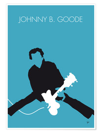 Poster No015 MY Chuck Berry Minimal Music poster