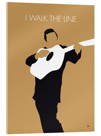 chungkong - No010 MY Johnny Cash Minimal Music poster
