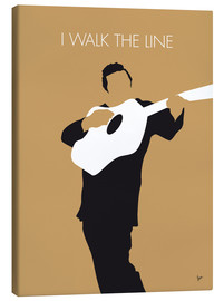 Tela  No010 MY Johnny Cash Minimal Music poster - chungkong