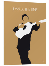 Stampa su schiuma dura  Johnny Cash, I Walk The Line - chungkong