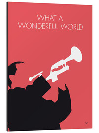 Stampa su alluminio  Louis Armstrong - What A Wonderful World - chungkong