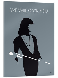 Stampa su vetro acrilico  Queen, We will rock you - chungkong