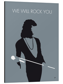 Stampa su alluminio  Queen, We will rock you - chungkong