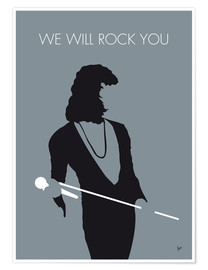 Poster Premium Queen, We will rock you