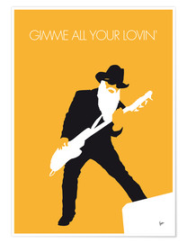 Poster Premium  ZZ Top - Gimme All Your Lovin' - chungkong