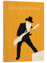 Stampa su legno  ZZ Top - Gimme All Your Lovin' - chungkong