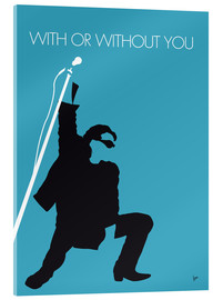 Stampa su vetro acrilico  U2 - With Or Without You - chungkong