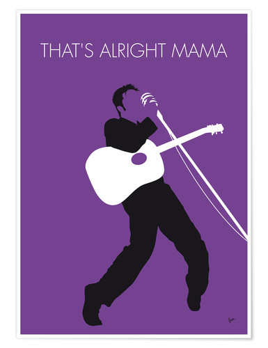 Poster Premium Elvis - That's Alright Mama