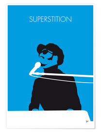 Poster Premium Stevie Wonder - Superstition