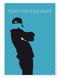 Poster Premium Beastie Boys - Fight For Your Right