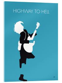 Stampa su vetro acrilico  ACDC, Highway to hell - chungkong