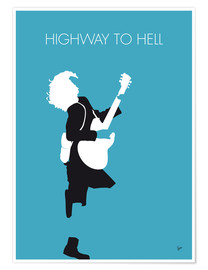 Poster Premium  AC/DC, Highway to hell - chungkong