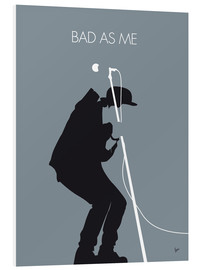 Forex  No037 MY TOM WAITS Minimal Music poster - chungkong