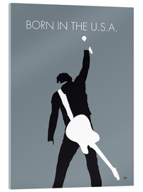Stampa su vetro acrilico  Bruce Springsteen, Born in the U.S.A. - chungkong