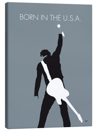Stampa su tela  Bruce Springsteen, Born in the U.S.A. - chungkong