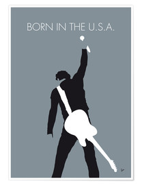 Poster Premium Bruce Springsteen, Born in the U.S.A.