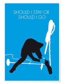 Poster Premium The Clash - Should I Stay Or Should I Go