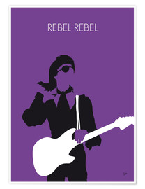 Poster Premium David Bowie - Rebel Rebel