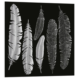 Forex  Feathers in silver