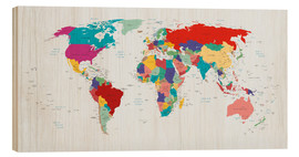 Legno  World Map - Country overview, updated 2003 - Kidz Collection