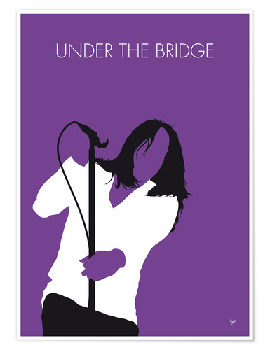 Poster Premium Red Hot Chilli Peppers - Under The Bridge