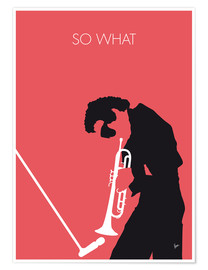 Poster Premium  Miles Davis, So what - chungkong