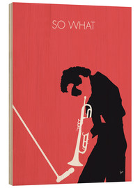 Stampa su legno  Miles Davis, so what - chungkong