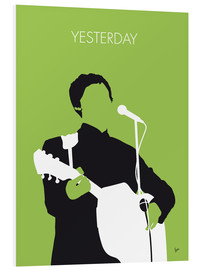 Stampa su schiuma dura  Paul McMartney - Yesterday - chungkong