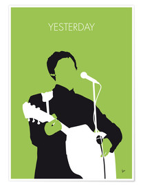 Poster Premium  Paul McMartney - Yesterday - chungkong