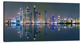 Vincent Xeridat - Dubai sky light panorama