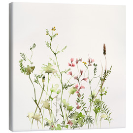 Stampa su tela  Wild Flower Meadow - Dearpumpernickel