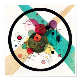 Poster  Circles in a Circle - Wassily Kandinsky