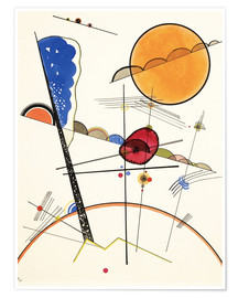 Poster Premium  Crescere - Wassily Kandinsky
