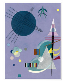 Poster Premium  Violet Green - Wassily Kandinsky