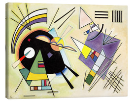 Tela  Black and purple - Wassily Kandinsky