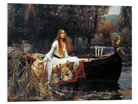 Stampa su schiuma dura  La signora di Shalott - John William Waterhouse