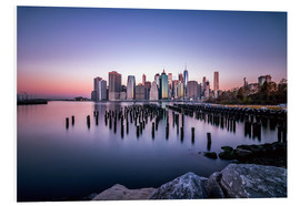 Stampa su schiuma dura  Sunrise New York City - Sören Bartosch