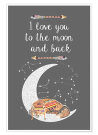 GreenNest - I love you to the moon and back