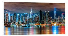 Forex  New York, Midtown Skyline by Night - Sascha Kilmer