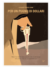 Poster Premium A Fistful Of Dollars