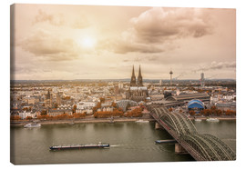 Stampa su tela  Cologne Autumn View - rclassen