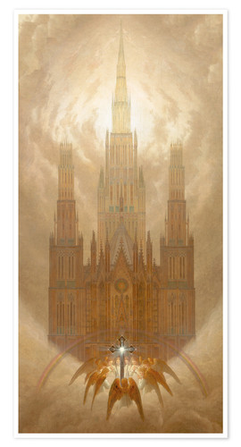 Poster Premium The Cathedral