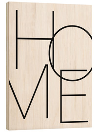 Stampa su legno  Home - Finlay and Noa