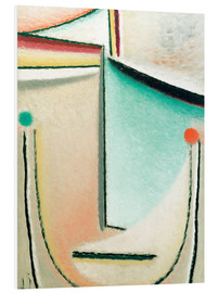 Stampa su schiuma dura  Abstract Head: Pink Light Blue - Alexej von Jawlensky