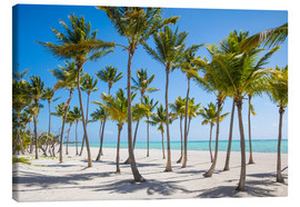 Stampa su tela  Juanillo Beach, Cap Cana, Punta Cana, Dominican Republic, West Indies, Caribbean, Central America - Jane Sweeney