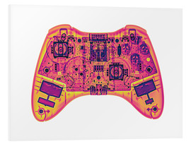 Forex  Computer game controller, X-ray - Gustoimages
